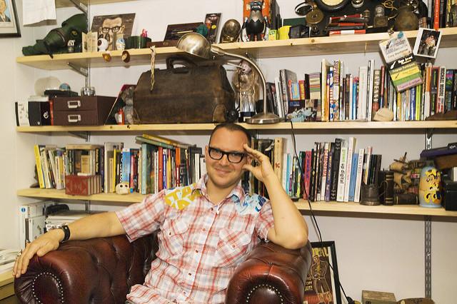 photo of Cory Doctorow