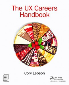 book cover of The UX Careers Handbook