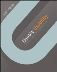 book cover of Usable Usability by Eric Reiss