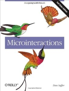 book cover of Microinteractions by Dan Saffer