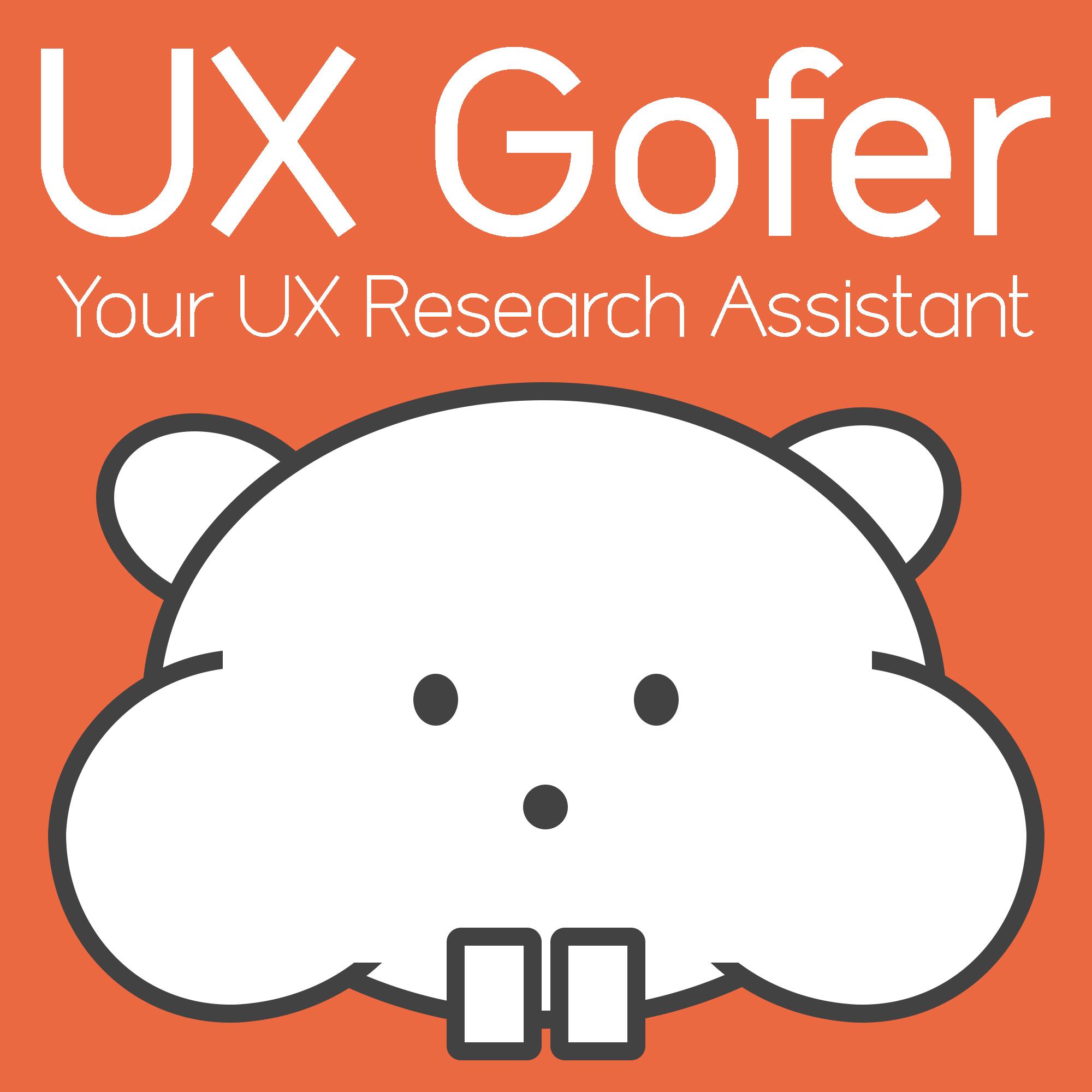 UX Gofer logo